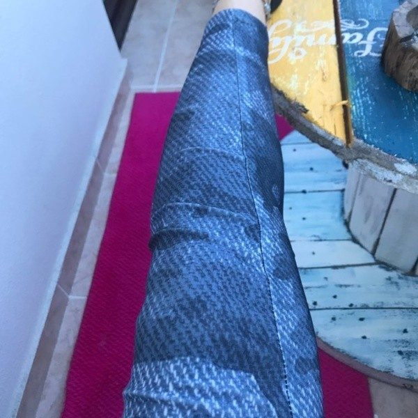 Camouflage Legging Slim Elastic photo review