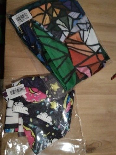Geometric Art Leggins photo review