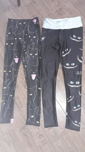 Cat Face Legging- Alice in Wonderland photo review
