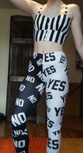 Yes and No Slim Fit Legging photo review