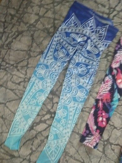 Legging Aztec Round Ombre photo review